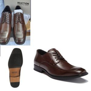 NEW | 10 | KENNETH COLE LEATHER LACE UP DERBY SHOE
